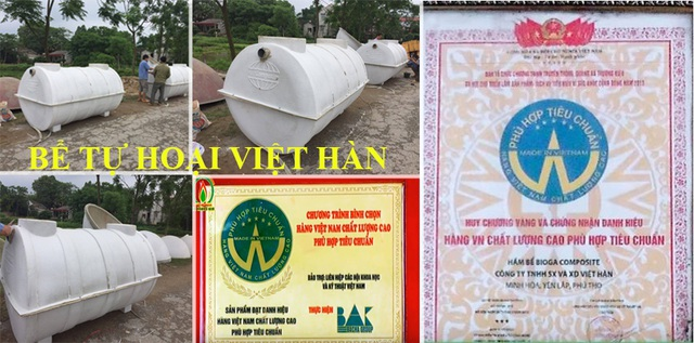 Bể tự hoại, bể phốt Composite Việt Hàn - Giải pháp mới thay thế bể phốt truyền thống - 3