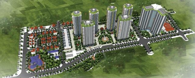 Dự án Mipec City View tại phường Kiến Hưng, quận Hà Đông, Hà Nội