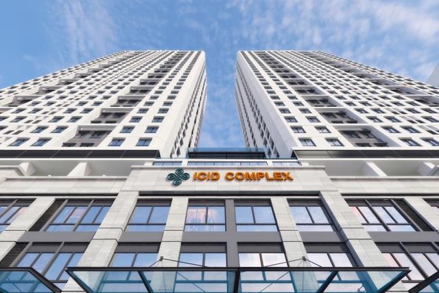 2 tòa tháp ICID Complex 30 tầng với 646 căn hộ