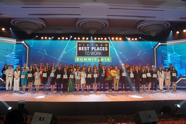 Lễ vinh danh và công bố Kết quả Khảo sát Nơi làm việc tốt nhất Việt Nam 2017