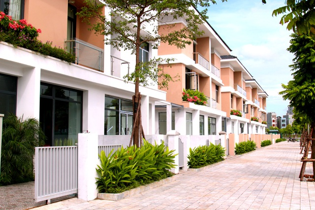 An Phú Shop-villa đang trong giai đoạn hoàn thiện và bàn giao