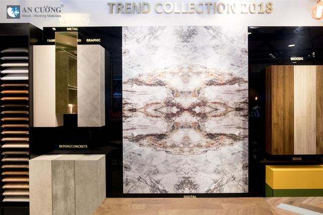 Gỗ An Cường đang tạo ra một xu hướng sắc màu mới với Trend Collection 2018
