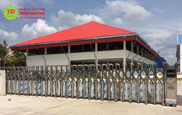 Ưu điểm vượt trội từng sản phẩm cửa cổng xếp Trường Hưng Phát - 1