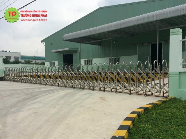 Ưu điểm vượt trội từng sản phẩm cửa cổng xếp Trường Hưng Phát - 3