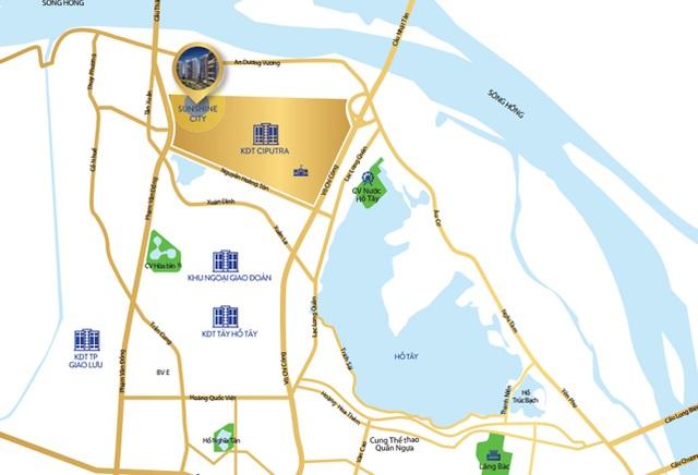 """Nhiều dự án cạnh trục tuyến đường Nhật Tân – Nội Bài hưởng lợi nhờ cơ sở hạ tầng """"thay da đổi thịt""""."""
