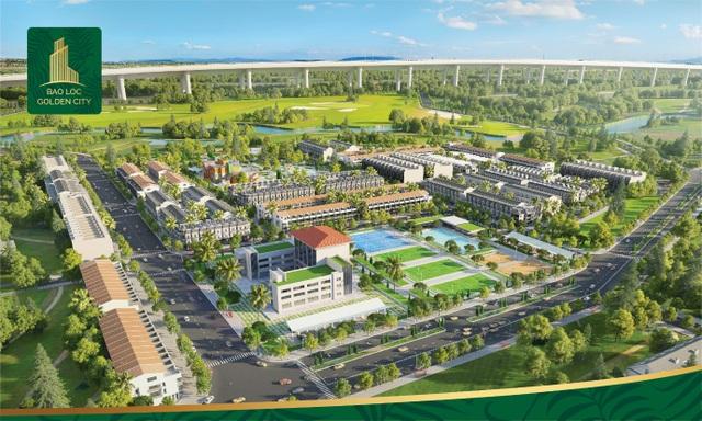 Dự án Bảo Lộc Golden city, vị trí vàng chiến lược kết nối trực tiếp cao tốc Dầu giây Liên Khương