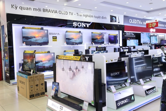 Trải nghiệm tháng khuyến mại Sony trên toàn hệ thống siêu thị điện máy Pico