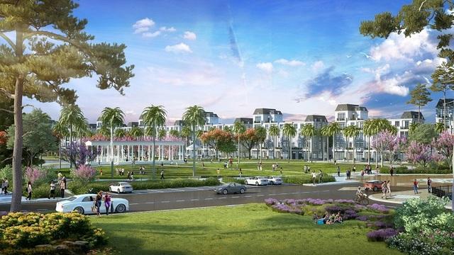 The New Monaco hội tụ hệ thống tiện ích lần đầu ra mắt như vườn hoa, kid garden…