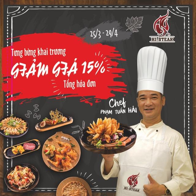 KINGDOM kết hợp cùng Chef Phạm Tuấn Hải ra mắt nhà hàng Hi-Steak - 5