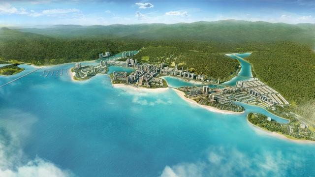 Tổng thể khu đô thị Halong Marina do BIM Group làm chủ đầu tư
