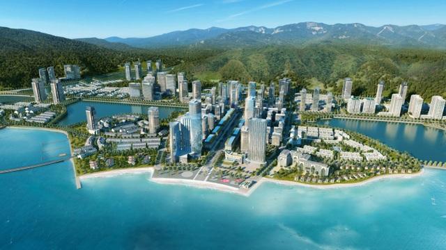 Bán đảo 2 khu đô thị Halong Marina được BIM Group tập trung phát triển trở thành trung tâm dịch vụ du lịch nghỉ dưỡng hàng đầu Quảng Ninh