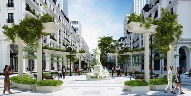 Dự án Marina Square sở hữu vị trí gần như đẹp nhất trong tổng thể khu đô thị