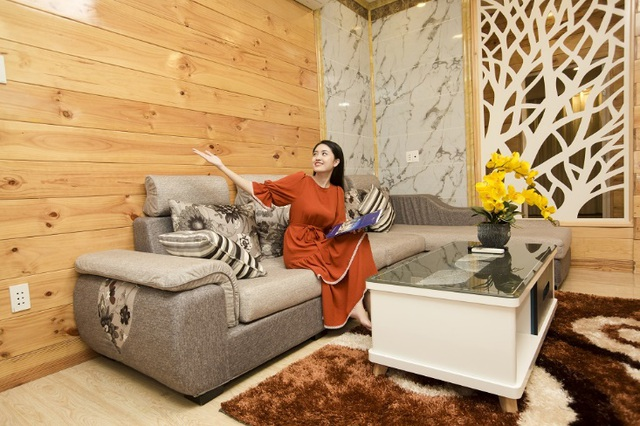 Không gian nội thất tại Villa