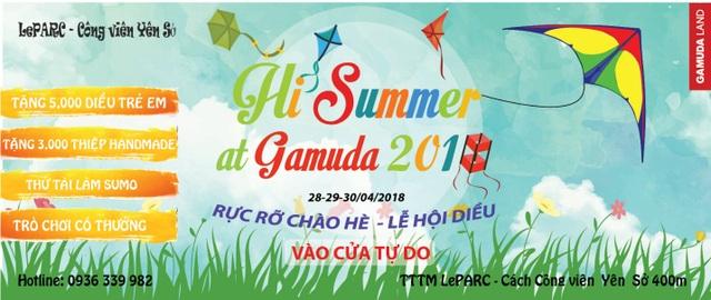 Lễ hội Diều Gamuda 2018 – sự kiện đáng mong chờ nhất dịp 30/4 - 5