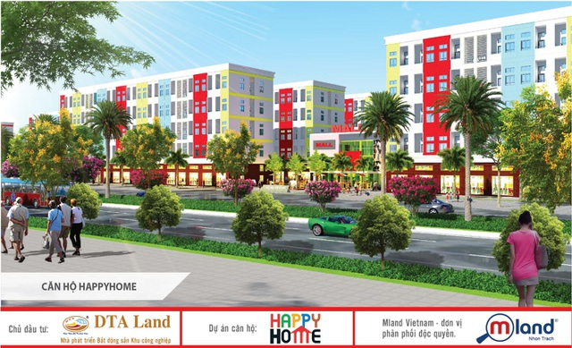 Mới đây, thị trường BĐS Nhơn Trạch đón nhận thông tin về dự án nhà ở xã hội Happy Home của DTA Land sắp được triển khai.