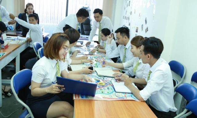 Đội ngũ nhân viên trẻ trung – năng động
