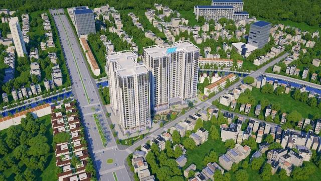 Sky Central, tọa lạc tại 176 Định Công, thể hiện cam kết cao nhất của chủ đầu tư HUD1 với khách hàng.