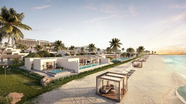 Các căn biệt thự Regent Residences Phu Quoc đều được thiết kế tối giản, gần gũi và có tầm nhìn ra biển xanh