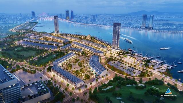 Phối cảnh tổng thể dự án Marina Complex tại bờ Đông sông Hàn