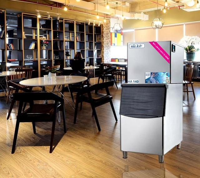 Máy làm đá viên đang là sản phẩm không thể thiếu của nhiều khách sạn, nhà hàng, quán cà phê, trà sữa, fast food…