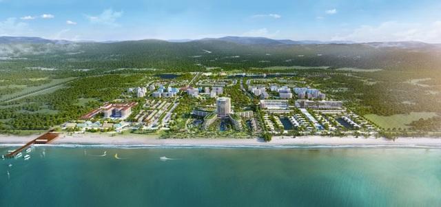 Boutique Hotels Phuquoc Waterfront nằm trong Khu đô thị Phu Quoc Marina