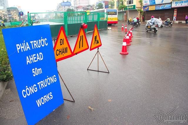 """""""Siêu dự án"""" đường vành đai 2 đang thi công đoạn Trường Chinh đến Ngã tư Vọng (Ảnh: Vietnamnet)"""