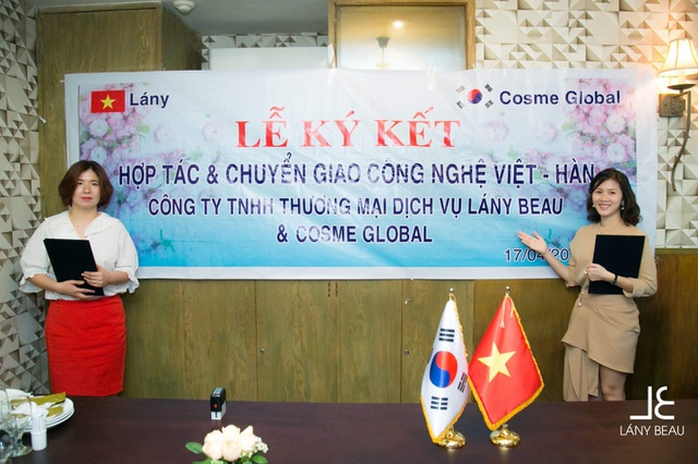 Lễ ký kết hợp tác và chuyển giao công nghệ Việt – Hàn.