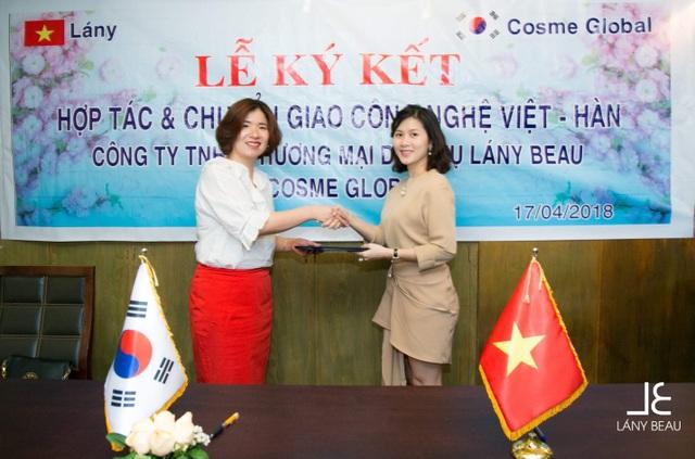 Lễ kí kết hợp tác chiến lược giữa Lány Beau và Cosme Global - 4
