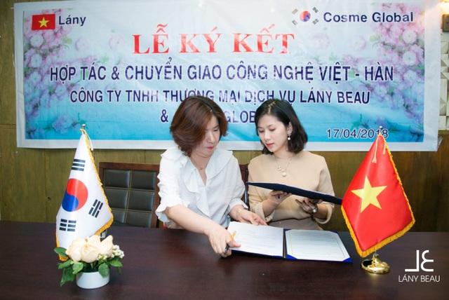 Lễ kí kết hợp tác chiến lược giữa Lány Beau và Cosme Global - 5