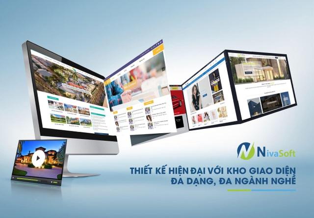 Thiết kế website Nivaweb – giải pháp mới cho bán hàng trực tuyến - 1
