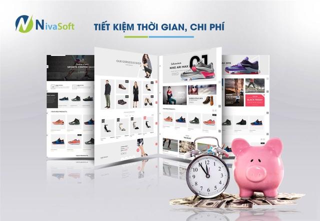 Thiết kế website Nivaweb – giải pháp mới cho bán hàng trực tuyến - 2