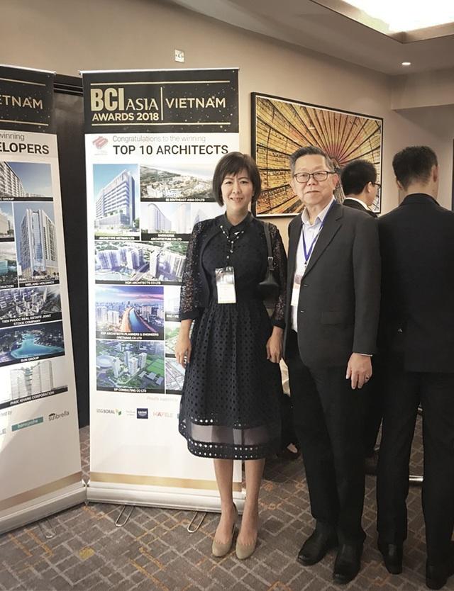 GK Archi tiếp tục được xếp Top 10 Công ty Kiến trúc hàng đầu tại Việt Nam - 2