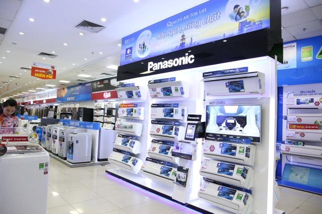 Toàn bộ điều hòa Panasonic 2018 đã lên kệ tại hệ thống siêu thị điện máy Pico