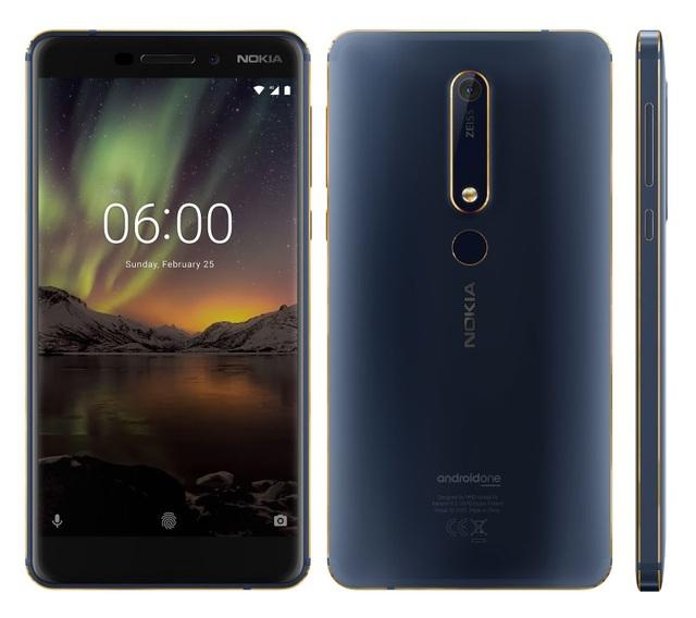 Nokia 6 mới trình làng phiên bản Blue Gold: Nâng cấp Ram & Bộ nhớ trong cao hơn - 1
