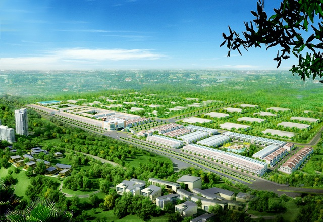 Western City có quy mô 30 ha với nhiều tiện ích
