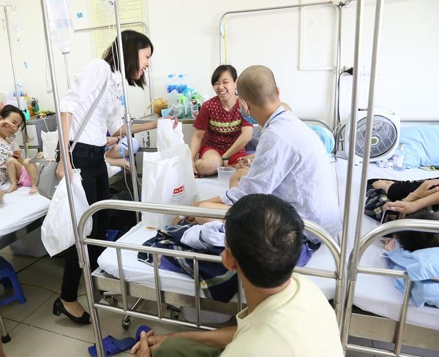 Công ty Delta Việt Nam tổ chức từ thiện tại Viện Huyết Học truyền máu Trung ương - 4