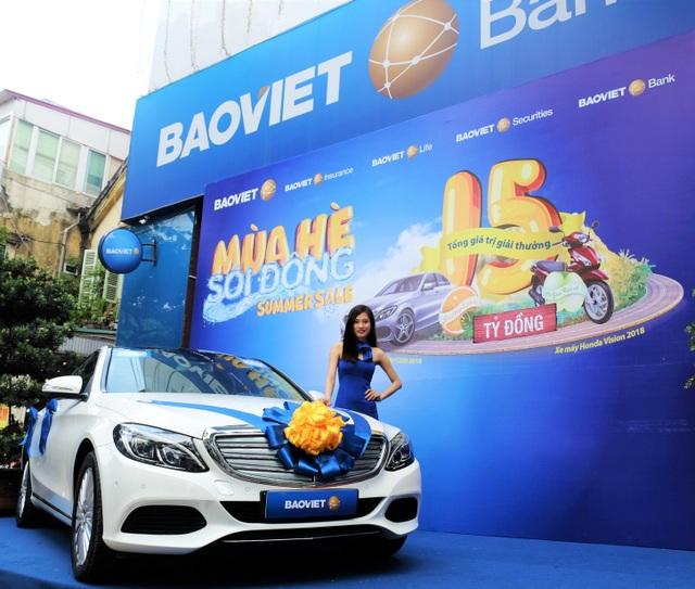Bảo Việt ngay đi - Trúng Mercedes