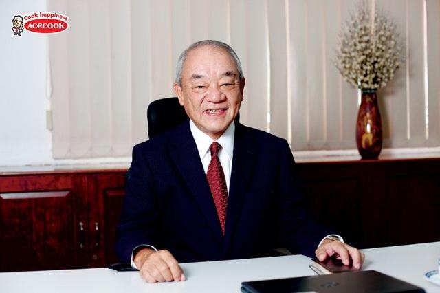 Ông Kajiwara Junichi - Tổng giám đốc Acecook Việt Nam