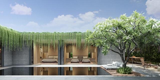 Wyndham Garden Phú Quốc sở hữu kiến trúc độc đáo Go Green đảm bảo công suất cho thuê và lợi tức thu về trên 10%/năm.
