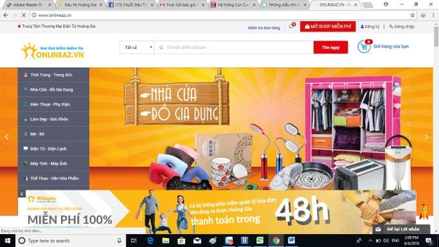 Sàn thương mại điện tử onlineaz.vn ra đời và thay đổi thói quen mua sắm thông thường của người Việt.