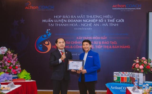 ( Công ty TNHH ACTIONCOACH TNT (ActionCOACH TNT Firm) là một trong những văn phòng nhượng quyền thương hiệu chính thức của ActionCOACH Global đã có mặt ở các tỉnh Thanh Hóa - Nghệ An - Hà Tĩnh)