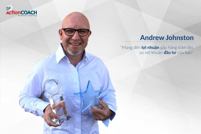 ( Ông Andrew Johnston – Bậc thầy huấn luyện actionCOACH hàng đầu thế giới )