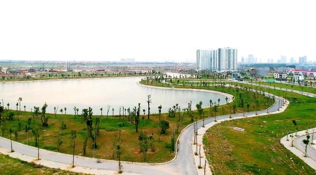 Hồ điều hòa – Lá phổi xanh trong lòng khu đô thị Thanh Hà Mường Thanh - 1