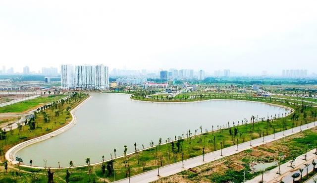 Hồ điều hòa – Lá phổi xanh trong lòng khu đô thị Thanh Hà Mường Thanh - 6