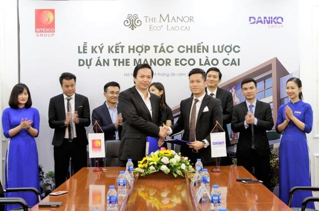 Lễ kí kết hợp tác giữa Danko Group và Công ty CP Đầu tư & Phát triển Sapa Lào Cai