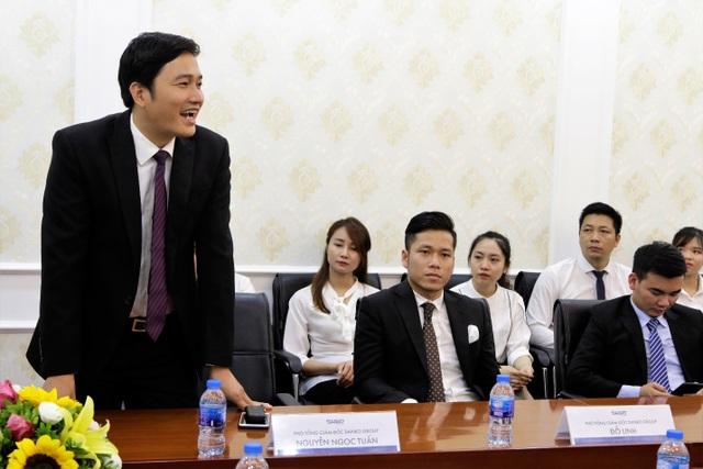 PTGĐ Danko Group – Ông Nguyễn Ngọc Tuấn phát biểu tại Lễ kí kết