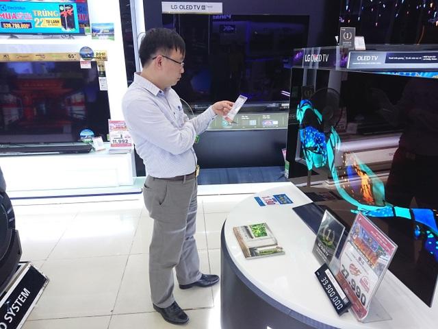 Đa số khách hàng quan tâm đến mẫu tivi màn hình lớn từ 55 inch trở lên