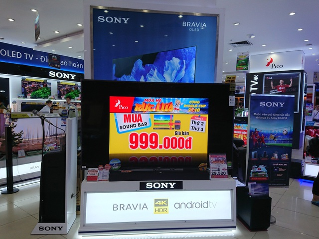 Mua loa soundbar cùng tivi được ưu đãi chỉ còn 999.000 đồng
