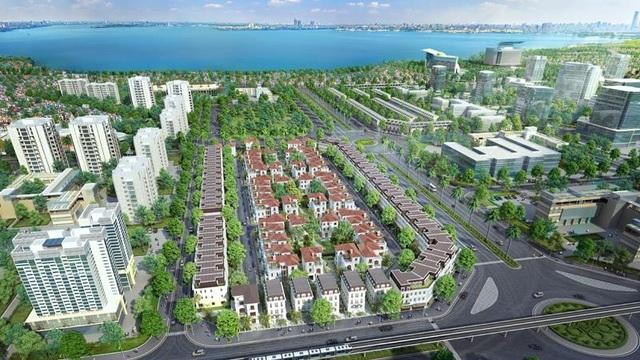 Cùng với vị thế mới trong quy hoạch trung tâm hành chính phía tây thành phố, các dự án bất động sản tầm cỡ được phát triển cũng làm sáng thêm diện mạo khu vực.