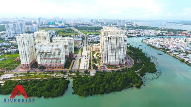 Khu căn hộ A1 Riverside sở hữu 3 mặt view sông với tầm nhìn đắt giá